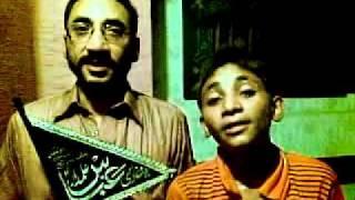 Zamane Ko Khuda Dikhla Raha Hai.......New Qasida By Muhammad Baqir