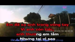 Karaoke: Cô đơn trong lặng thầm ( Hà Duy Thái)