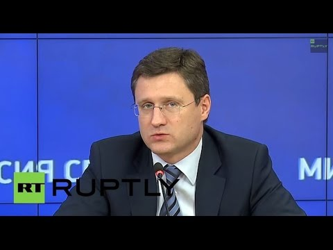 LIVE: Alexander Novak addresses 3rd National Oil and Gas Forum