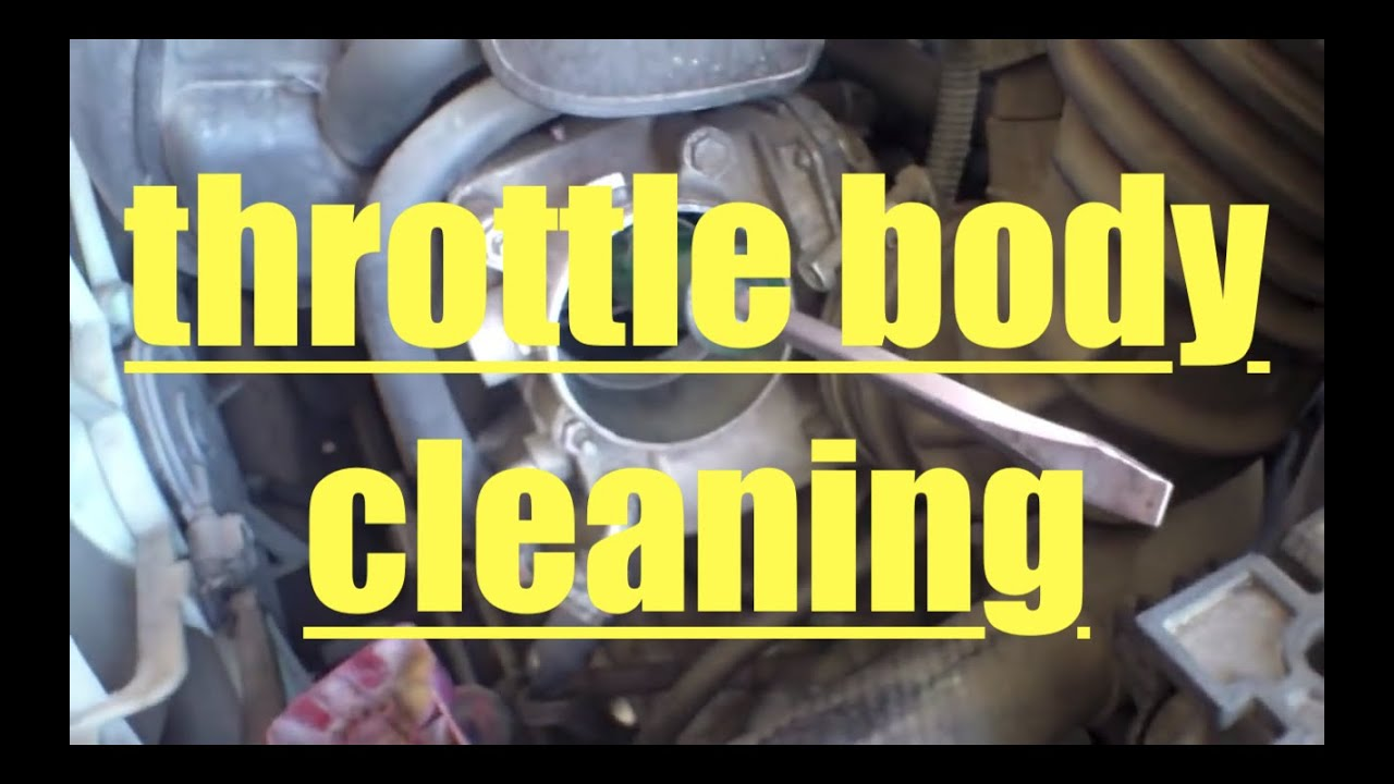 how to clean throttle body toyota matrix corolla youtube. Black Bedroom Furniture Sets. Home Design Ideas