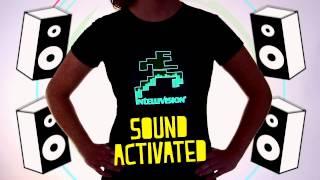 Custom LED Sound Activated Light Up T-shirts | Flashion Statement