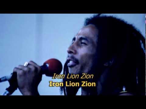 Iron Lion Zion - Bob Marley (LYRICS/LETRA)