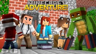 Minecraft Adventure - TINY TURTLE MEETS HIS NEW FAMILY AND MOVES IN!