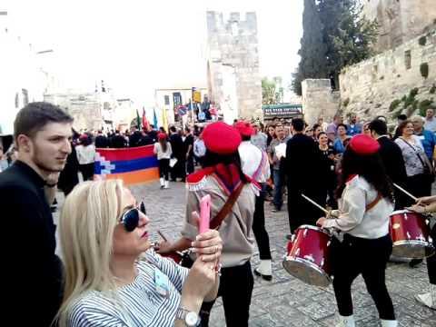 Пасха 2016.Иерусалим. Армянский патриархат