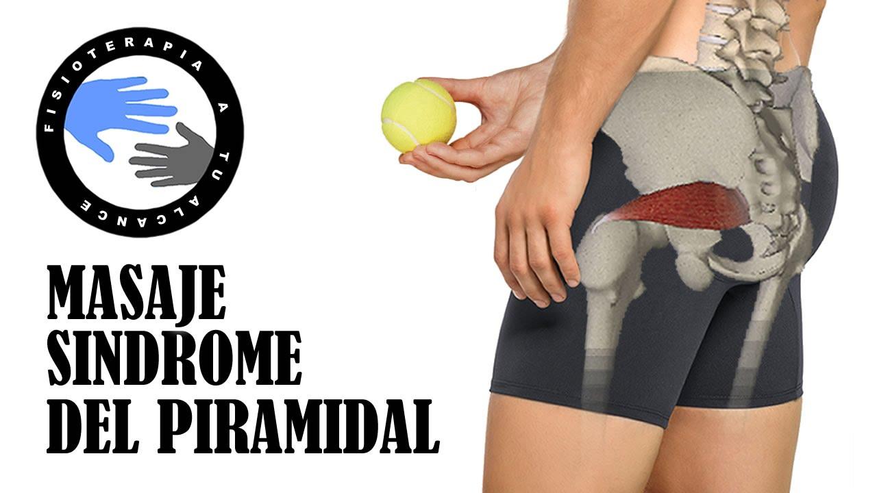 Sindrome del piramidal o piriforme, masaje para aliviar el dolor ...
