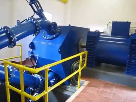 Hydropower plant 2 at Ashfield Farm Micro hydro 500Kw Pelton