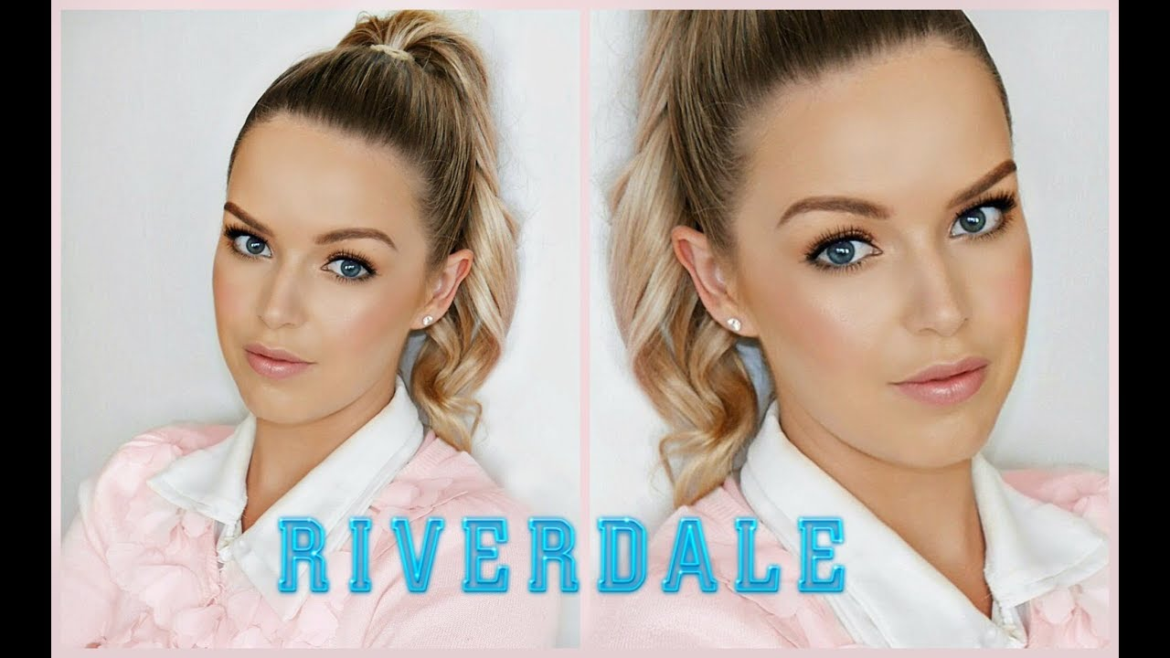 Riverdale Betty Cooper Inspired Makeup Tutorial Youtube