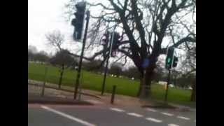 London-Ealing Common Gunnersbury Avenue Road closed 07/02/2013