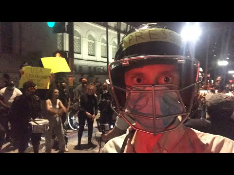 Live: Downtown Los Angeles Protest - Night 11