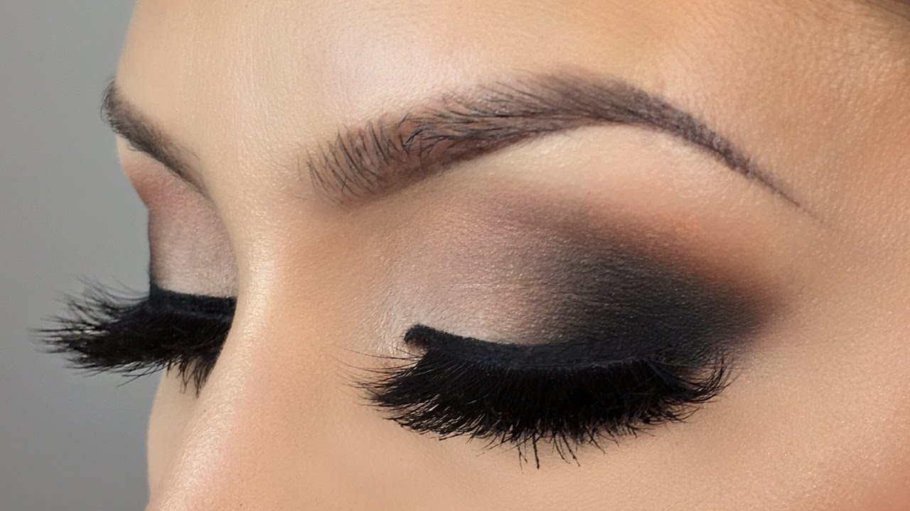 Affordable Neutral Black Smokey Eye Makeup Tutorial Youtube