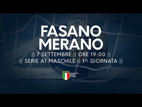 Serie A1M [1^]: Fasano - Merano 29-32