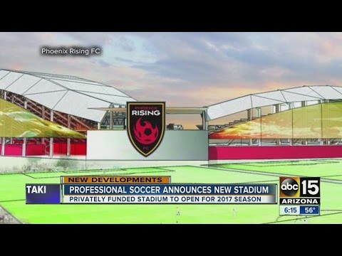 New soccer stadium coming to the Valley