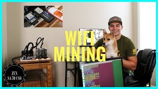 Can you Mine on Wifi? GPU Ethereum Zcash Wireless Mining Review