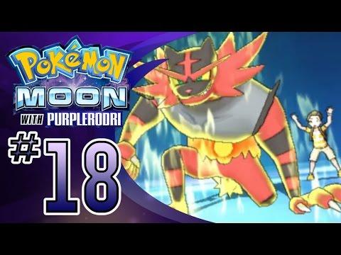 Let's Play Pokemon: Sun and Moon - Part 18 - Rival Orange & Incineroar!