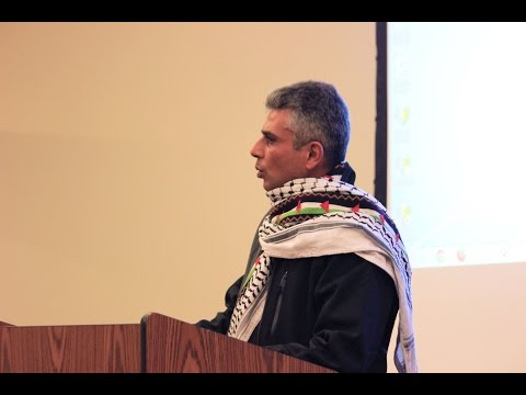 Iyad Burnat Visits Pierce College Puyallup