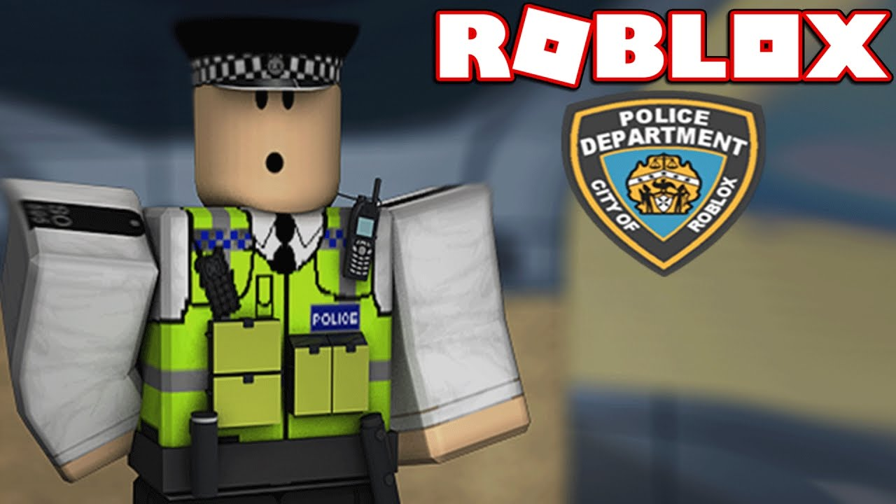Im A Police Officer In Roblox Roblox Roleplay Youtube