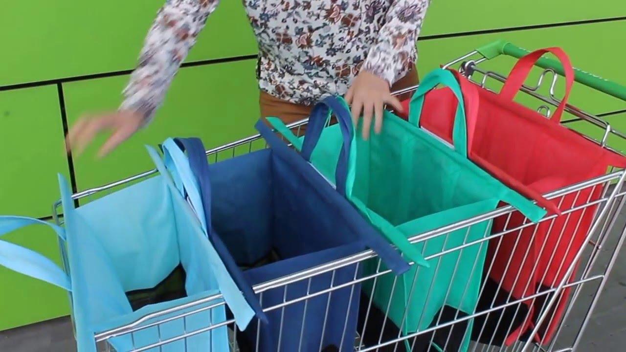 Сумка для покупок складная своими руками