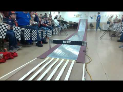 2016 Pinewood Derby