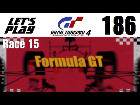 Lets Play Gran Turismo 4 - Part 186 - Extreme Events - Formula GT World Championship - Race 15
