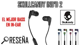 Review en Español de los Audífonos In-Ear SkullCandy INK'D 2 Link d...