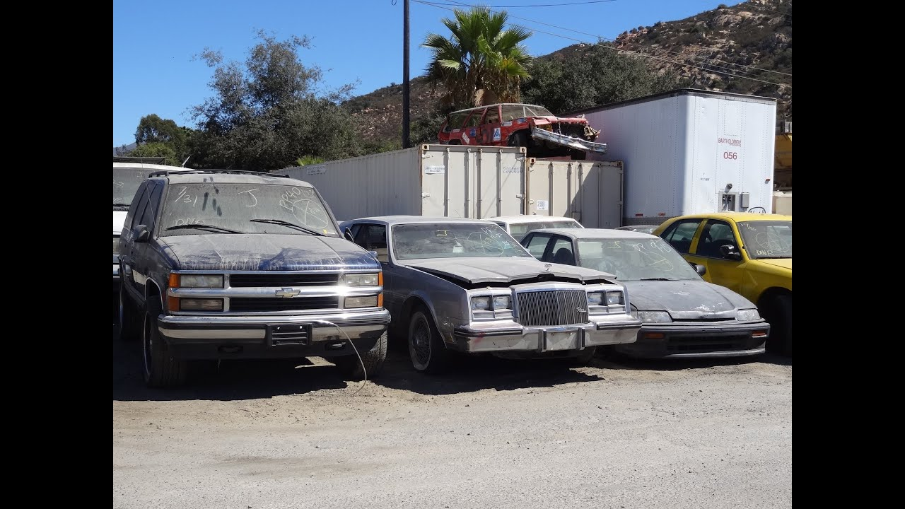 Classic Project Cars For Sale Lot Walkaround Parts Deals Classics ...