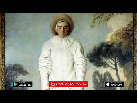 Louvre Museum – Pierrot Gilles Watteau Richelieu Wing Hall 35 – Paris – Audio Guide – MyWoWo  Travel