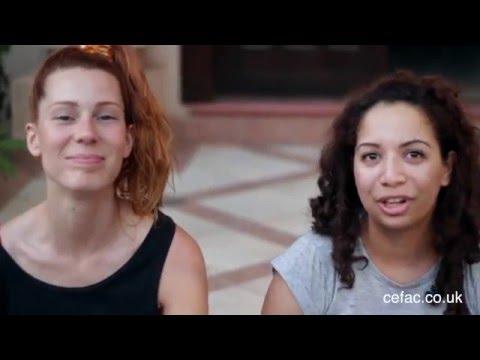 Natalie's & Lorena's First Time Working in Ghana   #combingGhana