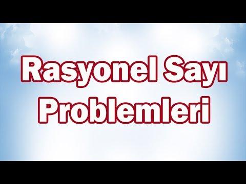 Rasyonel Sayı Problemleri 7. Sınıf Matematik | CANLI