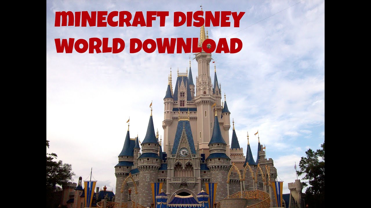 Minecraft Xbox Disney World W Download YouTube - Mcmagic us map download