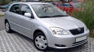 Тест драйв Toyota Corolla E120 (обзор)