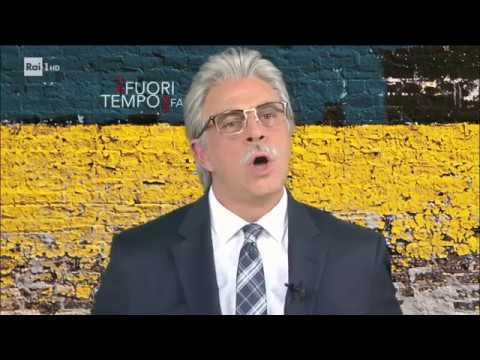 Maurizio Crozza, la parodia di Antonio Razzi - Che fuori tempo che fa 30/10/2017