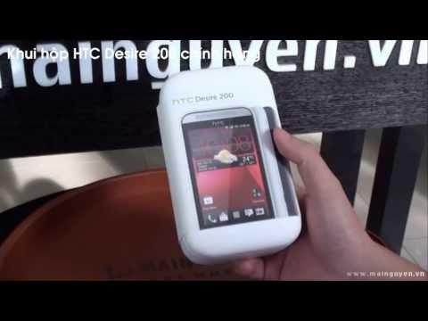 [Khui hộp] HTC Desire 200 - www.mainguyen.vn