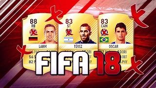 LES GROS JOUEURS QUI NE SERONT PAS DANS FIFA 18 !! ❌