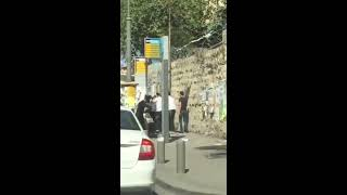 ISRAEL Jerusalem - Palestinian Terror Attack (from other side) 13/10/2015