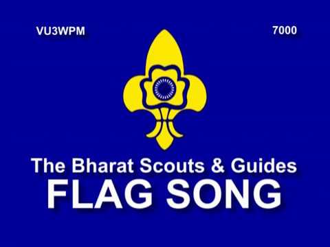 Flag Song of The Bharat Scouts  Guides  YouTube
