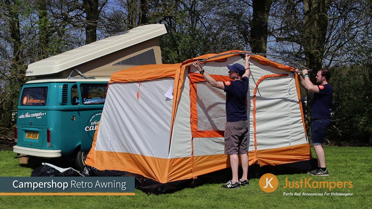 Campershop Retro Awning Youtube