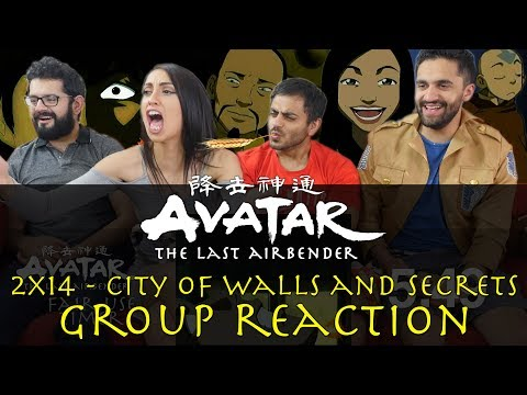 Avatar: The Last Airbender - 2x14 The City of Walls and Secrets - Group Reaction