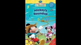 Mickey Mouse ClubHouse Mickey&#39s Roundup Book