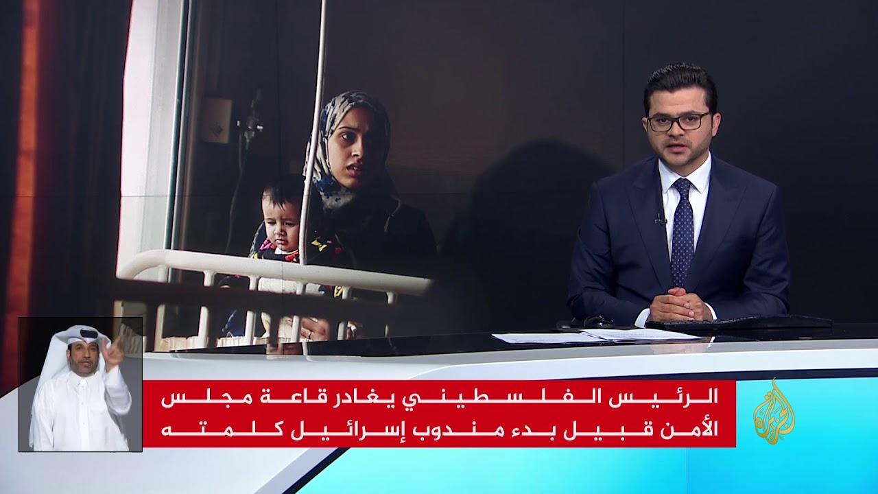 الجزيرة:نشرة الإشارة الاولى 2018/2/21