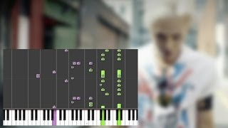 G-DRAGON - Crooked (Piano)