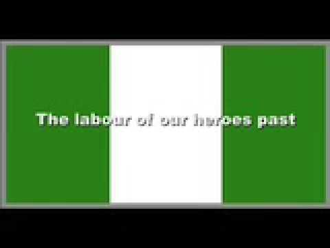 Nigerian National Anthem With Lyrics