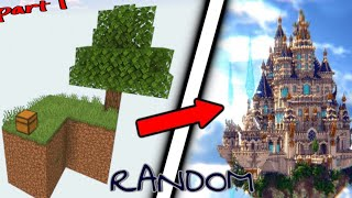 Skyblock but Every 5 Seconds A Random Item Spawns [Part 1 Hindi]