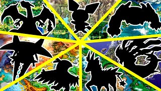 Top 5 Pokemon in Every Region