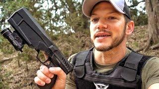 Многообещающий пистолет с интегрированным глушителем | Разрушительное ранчо | Перевод Zёбры