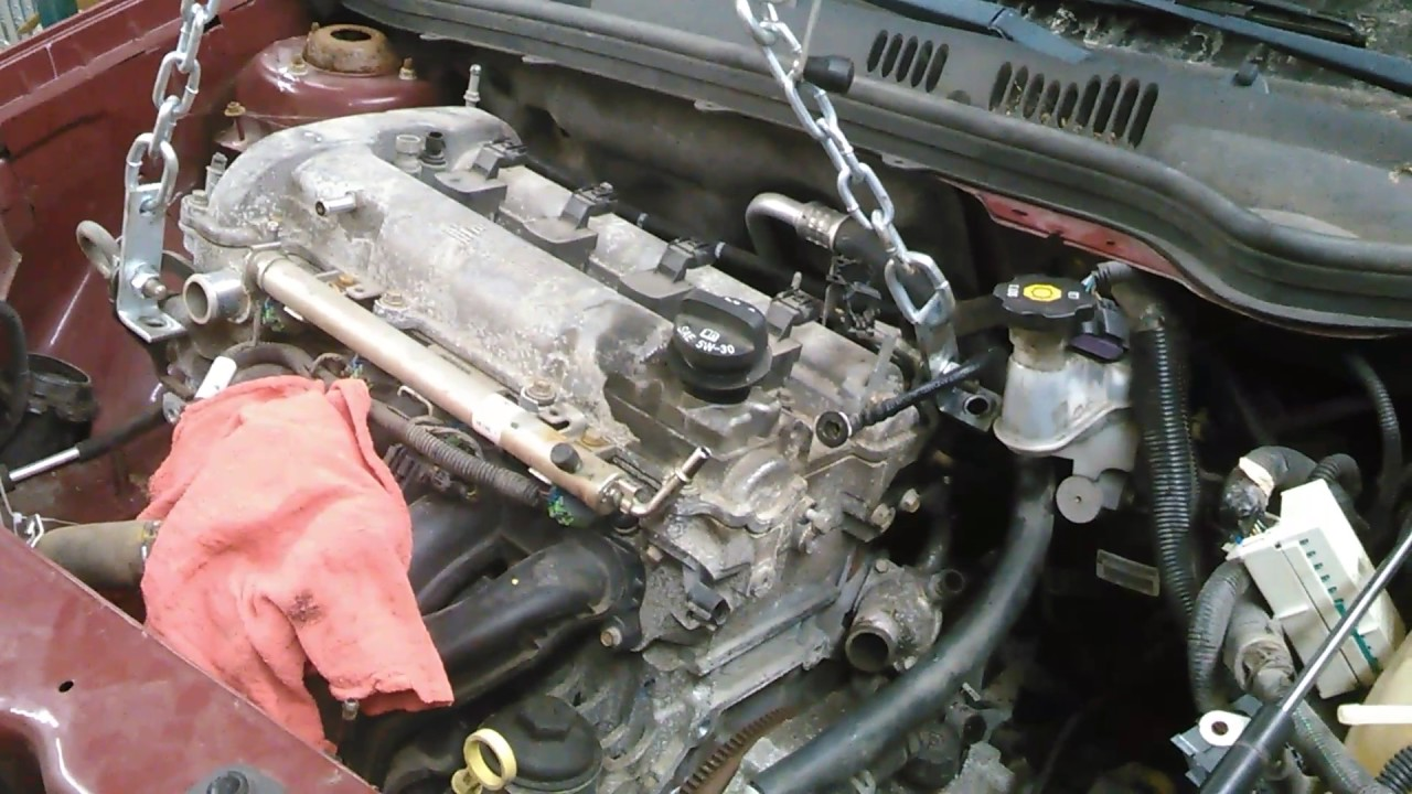 2009 chevy cobalt 2 2 engine removal part 1 youtube rh youtube com 2006 Chevy Cobalt Engine Problems 2006 Cobalt SS Supercharged Engine