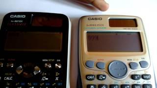 CASIO FX991EX VS CASIO FX991ES PLUS