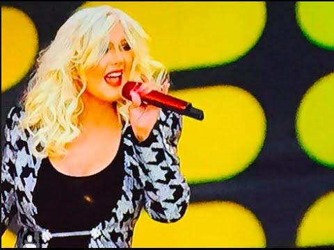 Christina Aguilera Performance  at CISCO ROCKS