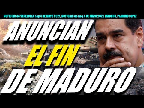 Anuncia.n El F.in De Maduro