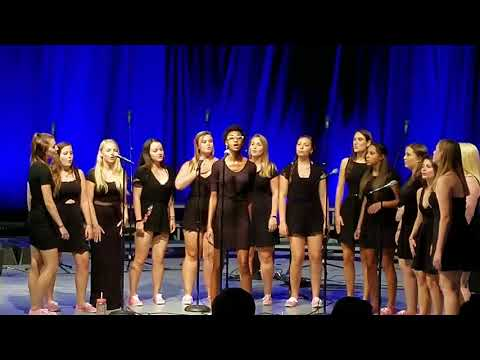 'River' preformed by Roanoke College Main Street Acapella during Family Weekend