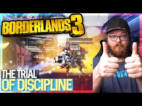 Kicking Ass In The Trial of Discipline (Trial 3) | Moze Grenade Build [MM3]  | Borderlands 3 [4K]